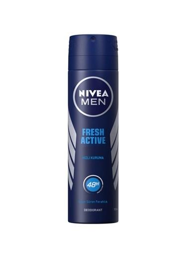 Nivea Nıvea Men Deodorant Fresh Actıve Erkek Sprey 150 Ml Renksiz